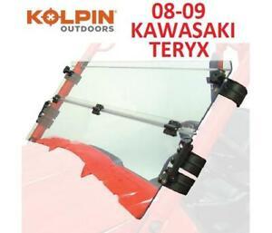 NEW KOLPIN KAWASAKI WINDSHIELD 1456 250723209 Teryx Half-Folding Windshield 2008 2009 TERYX UTV ATV