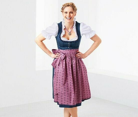Octoberfest Female Traditional German Bavari Dress Costume Dirndl size XXL 18678