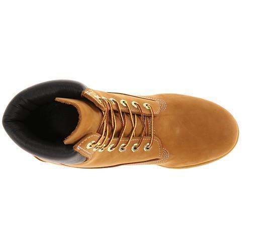 Authentic Timberland Men's Kid's Boot 6 Inch Premium 10061 12909 Wheat Nubuck  1
