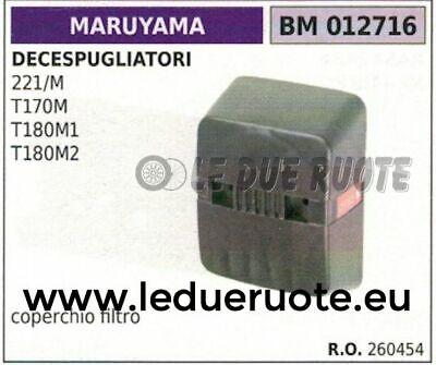 260454 Cubierta Filtro de Aire Desbrozadora MARUYAMA 221/M T170M T180M1 T180M2