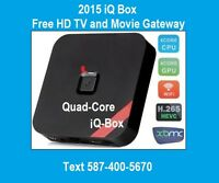 Free TV, Movies & More 1080P MX3/MXQ XBMC KODI Android Box