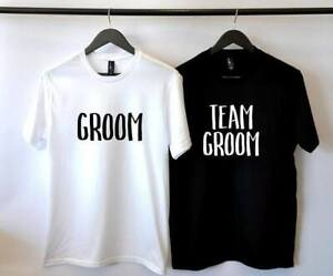 Custom Bachelor GROOM Party T-Shirts, Tank Tops, Caps and more