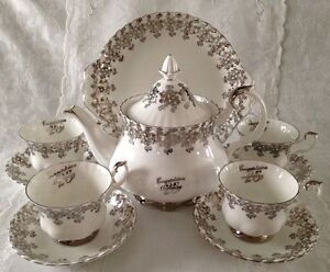 25th Anniversary Set Royal Albert