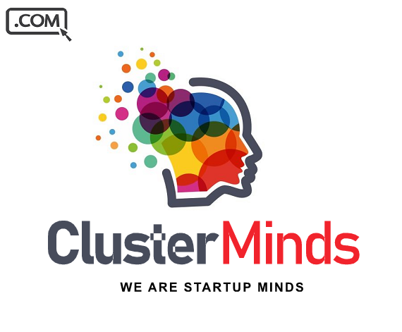 ClusterMinds .com - Brandable Domain Name For Sale - STARTUP AGENCY DOMAIN - $45.00