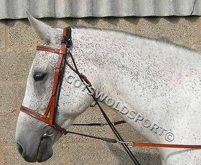 22/' Horseman/'s mecate reins avec Slobber Straps For Parelli Entraînement