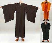 Buddista Monk Kung Fu Shaolin Vestaglia Abiti Uniformi Arti Marziali -  - ebay.it