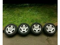 Wheels with rims 185/55 R14 for Peugeot Citroen Ford Renault