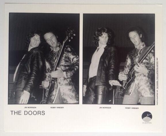 The Doors Promo Photo b&w 8x10 Print