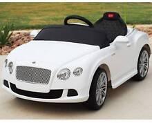 Ride-On (Ride On) Child Car Bentley GTC White, Remote Control Auburn Auburn Area Preview