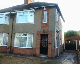 REFURBISHED 3 Bedroomed House - Kingsley Avenue, Hillmorton, Rugby, CV21 4JZ
