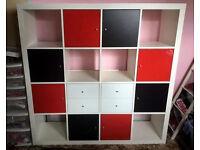 IKEA Expedit (Like Kallax) White 4x4 Storage Unit