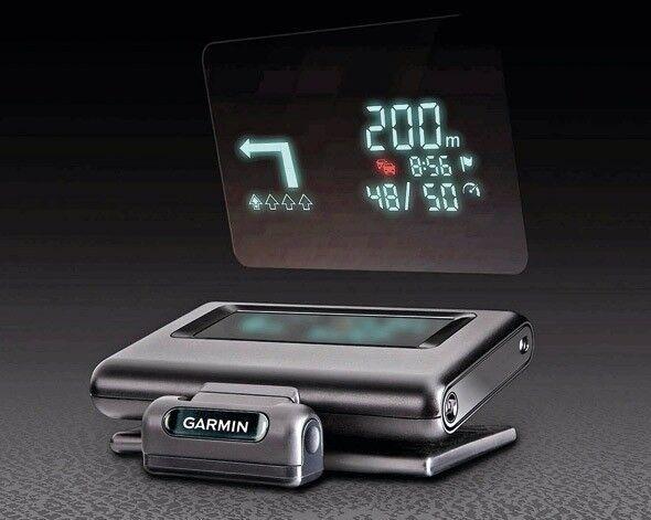 Garmin Sat Nav GPS WIFI Head-Up Display. Better than HUDl Tomtom for car, van, campers & lorries