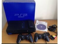 Sony Playstation PS2 Game Console with 2 Controllers Excellent Condition with Box