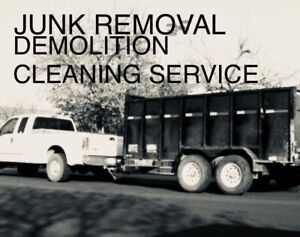 JUNK REMOVAL SERVICE ( great prices )