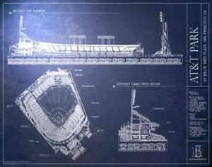 AT & T Park - Ballpark Blueprints