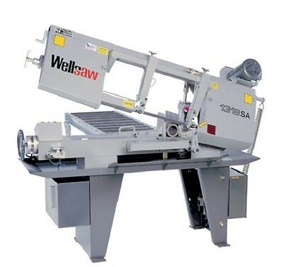 Wellsaw 1318-sa 13 X 18 Semi-automatic Band Saw Made In Usa Free Shipping