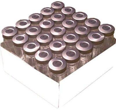 10ml Serum Vial 25pk Silver Seal