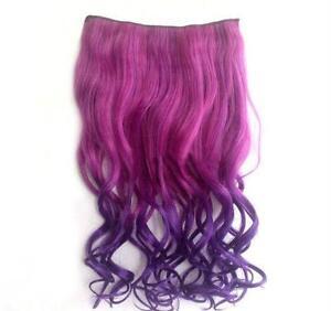 Rainbow Human Hair Extensions