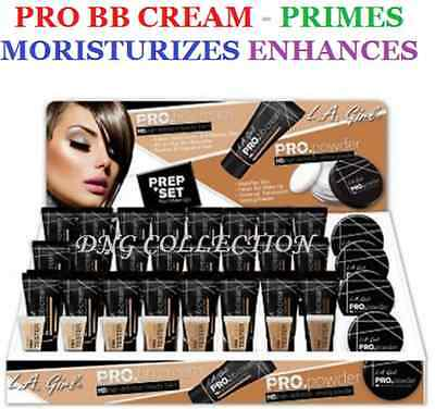 LA girl PRO. bb cream- High Definition Beauty Balm- Primes, Moisture, Enhances