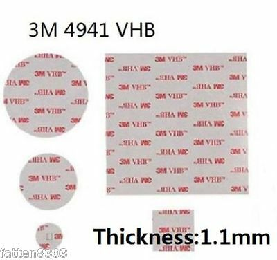 3M VHB 4941 Double-sided Acrylic Foam Tape (choose your size)