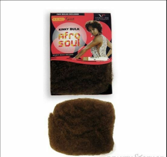 1af8411a6a7 2PACKS DEAL Vivica A FoxRemi 100 Human Hair Afro Kinky Bulk 16 BRAID ...