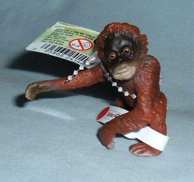 Safari #2414-29 Orangutan Baby, RETIRED Toy Collectible Orangutan