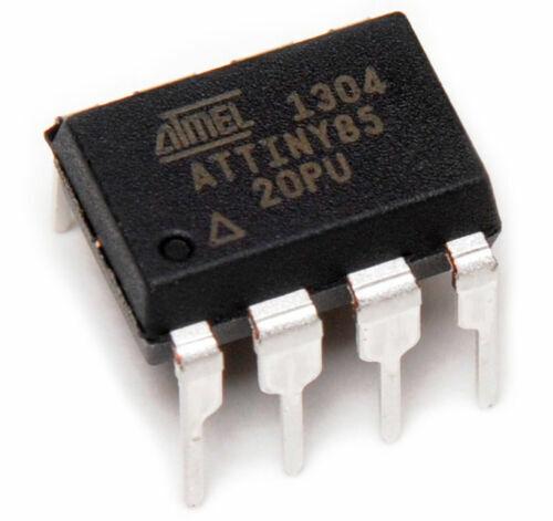 1 PCS ATTINY85-20PU ATTINY85 MCU 8BIT 8KB PDIP8 ATMEL - USPS TRACKING #