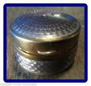Antique Pill Box