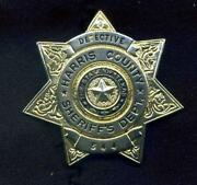 Texas Police Badge