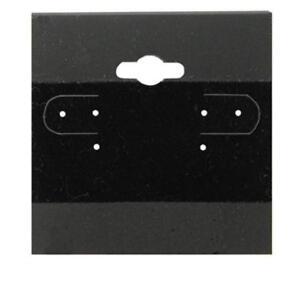 Black Earring Cards