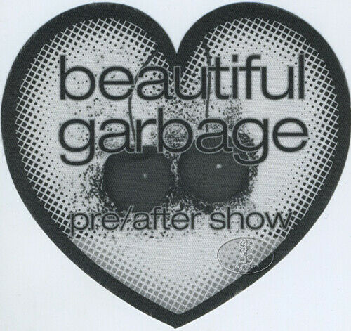 GARBAGE BEAUTIFULGARBAGE TOUR 2001 BACKSTAGE PASS