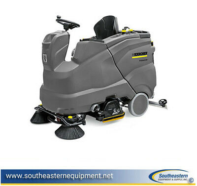 New Karcher B 150 R Bp Ride-on Floor Scrubberr75 Cylindrical Scrub Deck36v360