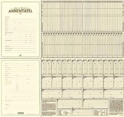 """RNK Verlag Ahnentafel """"Meine Vorfahren"""" DIN A2 Stammbaum Familentafel"""