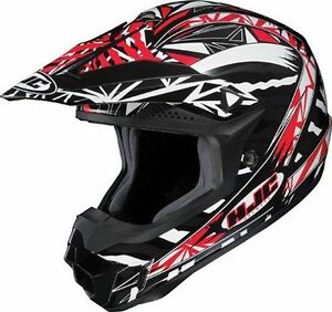 HJC CL-X6 CLX6 Fuze Helmet Small Red ATV MX 4 roues