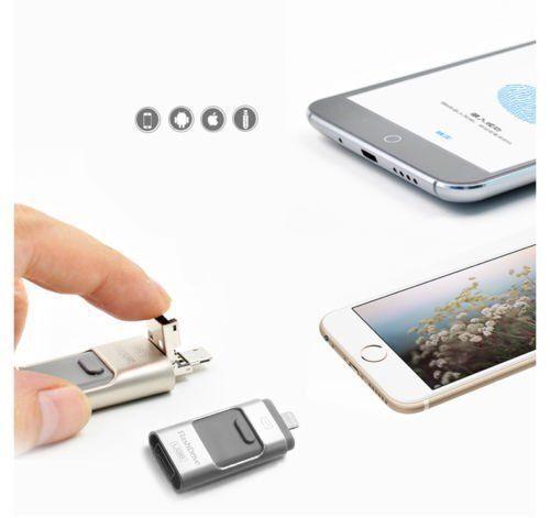 32 64 128 256GB OTG Device USB i Flash Drive Storage Memory