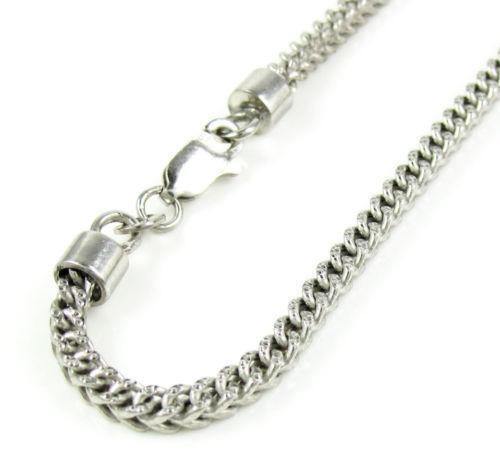 Mens 10k White Gold Bracelet Ebay