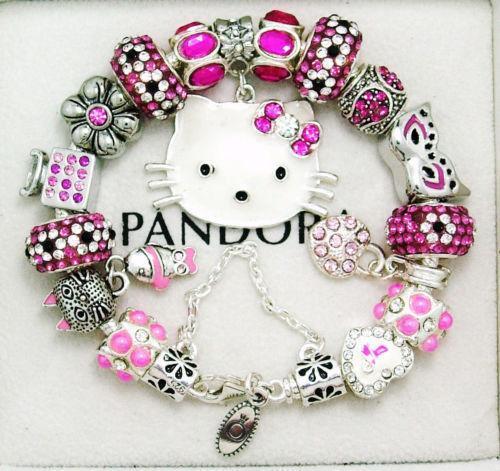hello kitty charm bracelet ebay