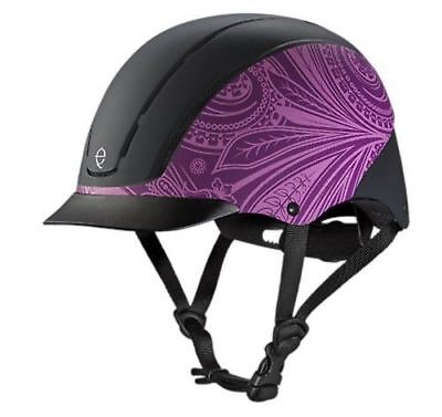 Horse Riding Helmet - Troxel Spirit Horse Riding Helmet All Purpose Safe Extended Visor Fun Colors