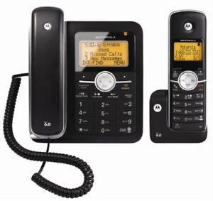Motorola L402C Corded and Dect 6.0 Combo Phone