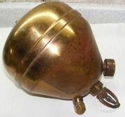 Antique Brass Fire Extinguisher