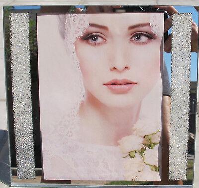 Swarovski Crystal Filled Picture Frame for 5