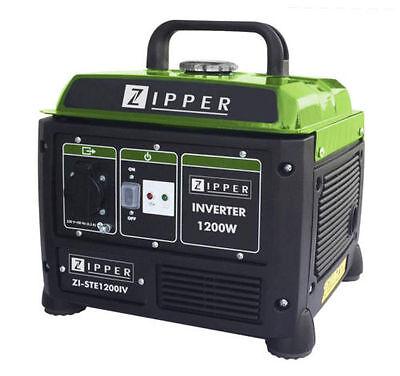 Zipper INVERTER Stromerzeuger ZI-STE1200IV Notstromaggregat Stromaggregat