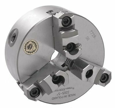 5 Bison 3 Jaw Lathe Chuck Direct Mount D1-4