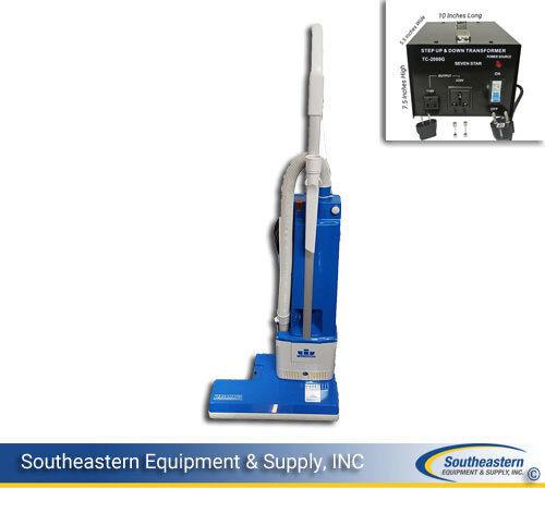 New Windsor Versamatic Plus VS 18/VSE 2 Upright Vacuum 220/230V 50/60Hz