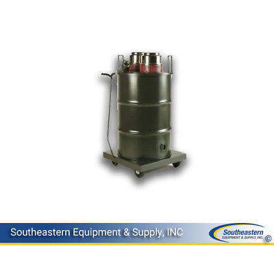 New Minuteman X-250 Twin Motor Vacuum With Hepa Filter - 55 Gal. Paintedwetdry