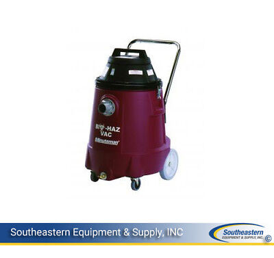 New Minuteman Bio-haz Vacuum - 15 Gallon - Dry Only