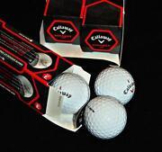 New Callaway Golf Balls