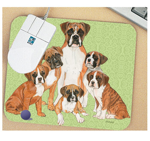 Boxer Mouse Pad