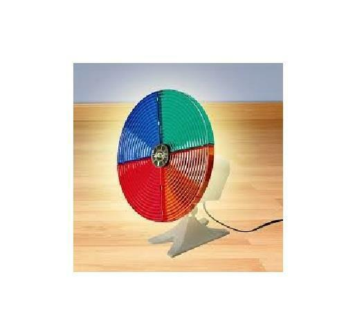 4 Section Color Wheel for Silver /  Aluminum Christmas Tree.