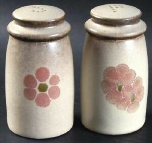 "Salt & Pepper Shakers by Denby-""Gypsy"" for the pair"